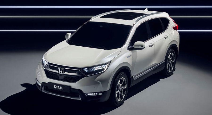 Honda CR-V Hybrid với hệ truyền động điện và diện mạo mới chuẩn bị đến Frankfurt 2017 - ảnh 4