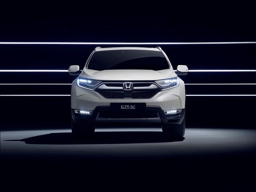 Honda CR-V Hybrid với hệ truyền động điện và diện mạo mới chuẩn bị đến Frankfurt 2017 - ảnh 3