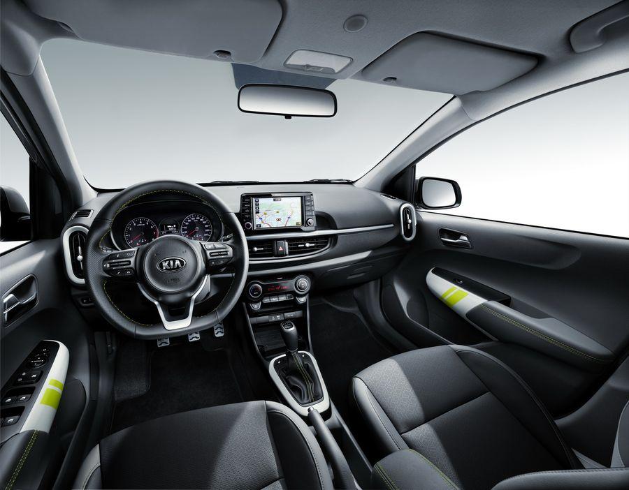 Kia Picanto X-Line mới thu hút hơn với diện mạo và động cơ mới - ảnh 3