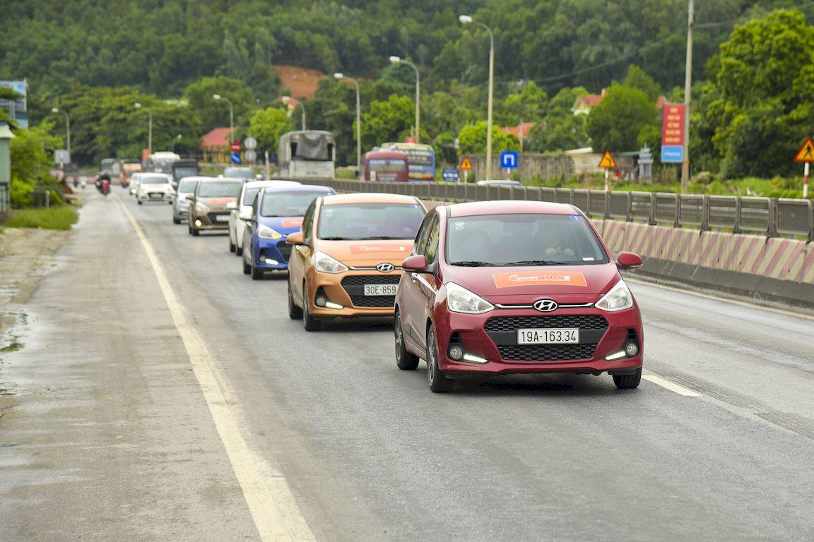 Đánh giá mức tiêu hao nhiên liệu Hyundai Grand i10 2017