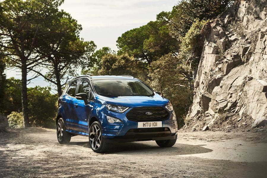 Ford EcoSport diesel 2018 ra mắt nhiều cải tiến