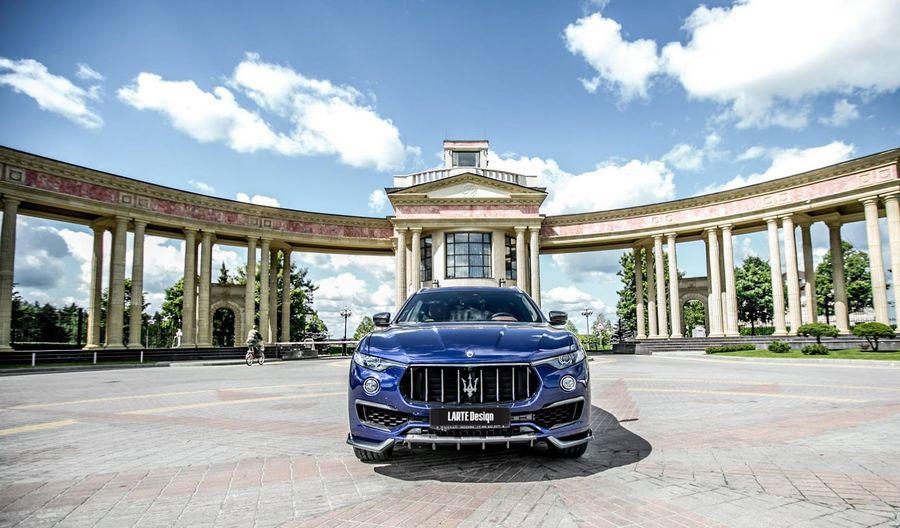 Maserati Levante đẹp hơn với gói độ Larte Design