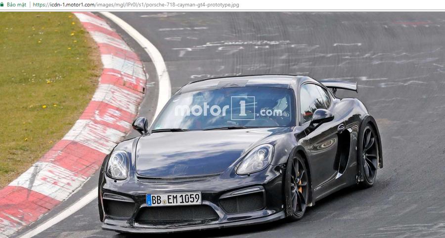 Porsche 718 Cayman GTS 2018 bị bắt gặp với diện mạo gần như hoàn chỉnh - ảnh 5