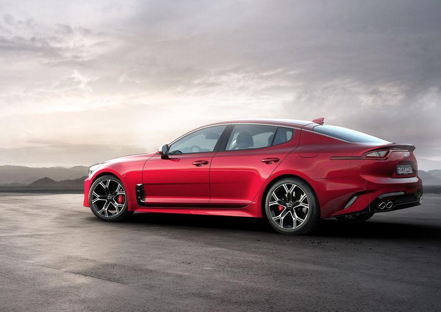 Kia Stinger có thể nhận được động cơ V8 mạnh mẽ hơn - ảnh 4