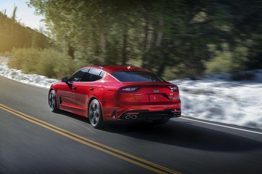 Kia Stinger có thể nhận được động cơ V8 mạnh mẽ hơn - ảnh 5