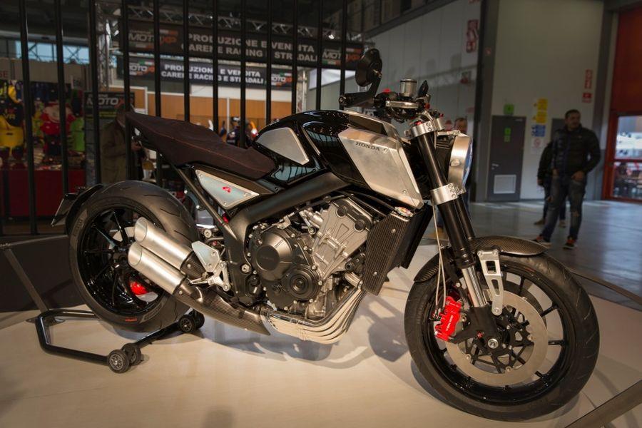 Soi kỹ Honda CB4 Interceptor concept hoàn toàn mới - Hình 1
