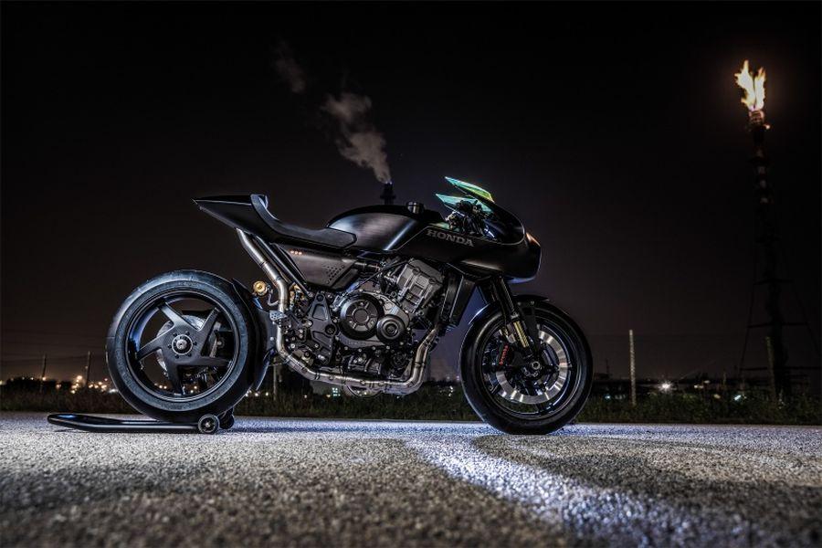Soi kỹ Honda CB4 Interceptor concept hoàn toàn mới - Hình 2