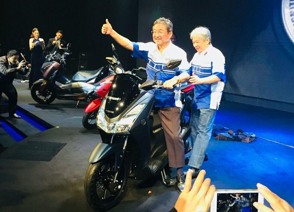 Ra mắt Yamaha LEXi 125 mới, đối thủ cạnh tranh của Honda PCX 125 - Hình 1