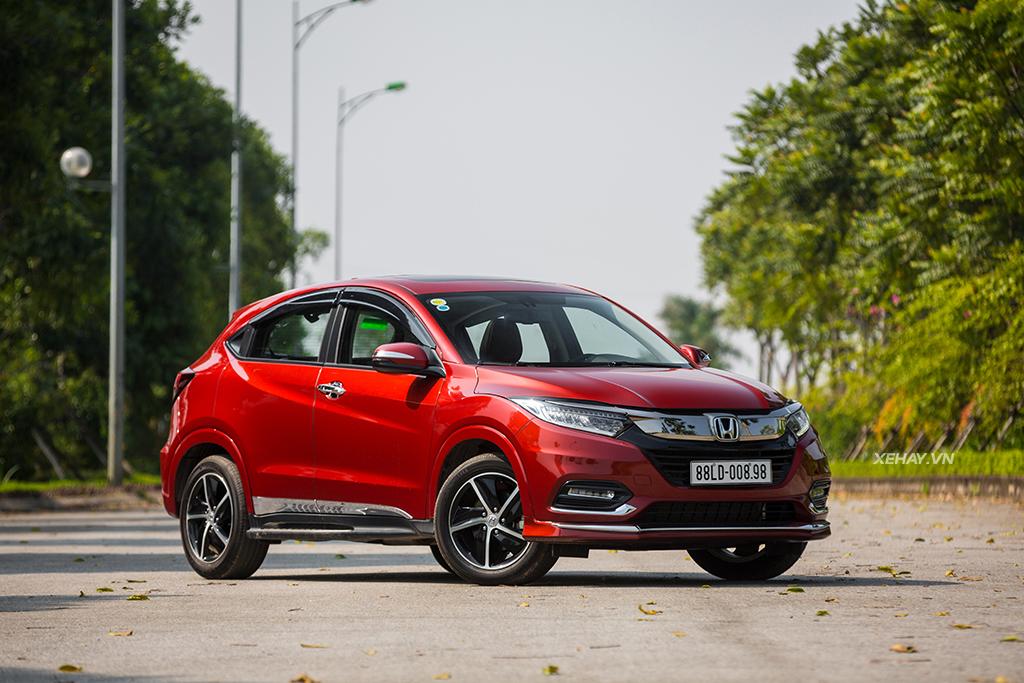 Giá xe Honda HRV 2019 màu đỏ mới