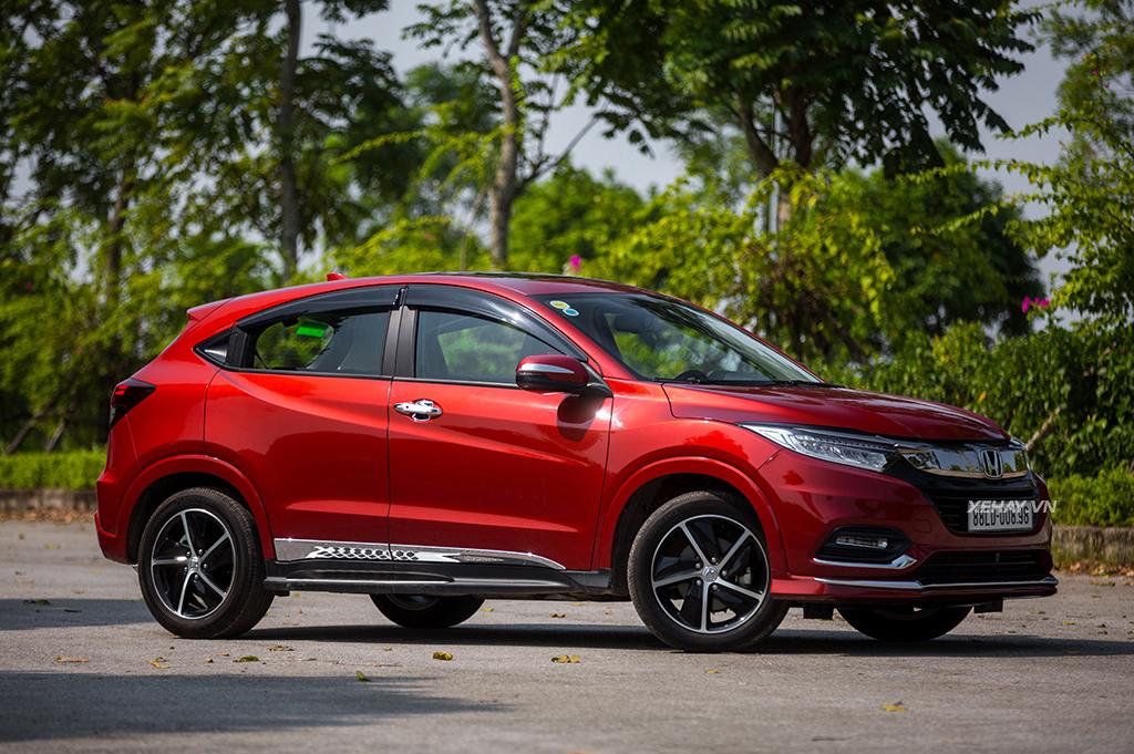 Honda HR-V 2019 màu đỏ mới