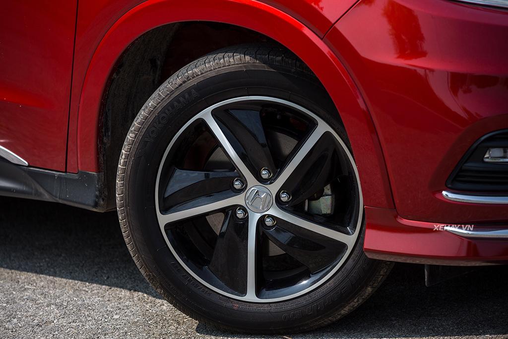 Lazang Honda HR-V 2019 màu đỏ mới