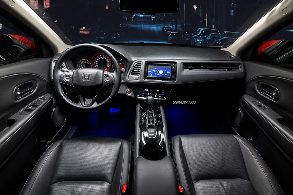Khoang nội thất xe Honda HRV 2019 mới