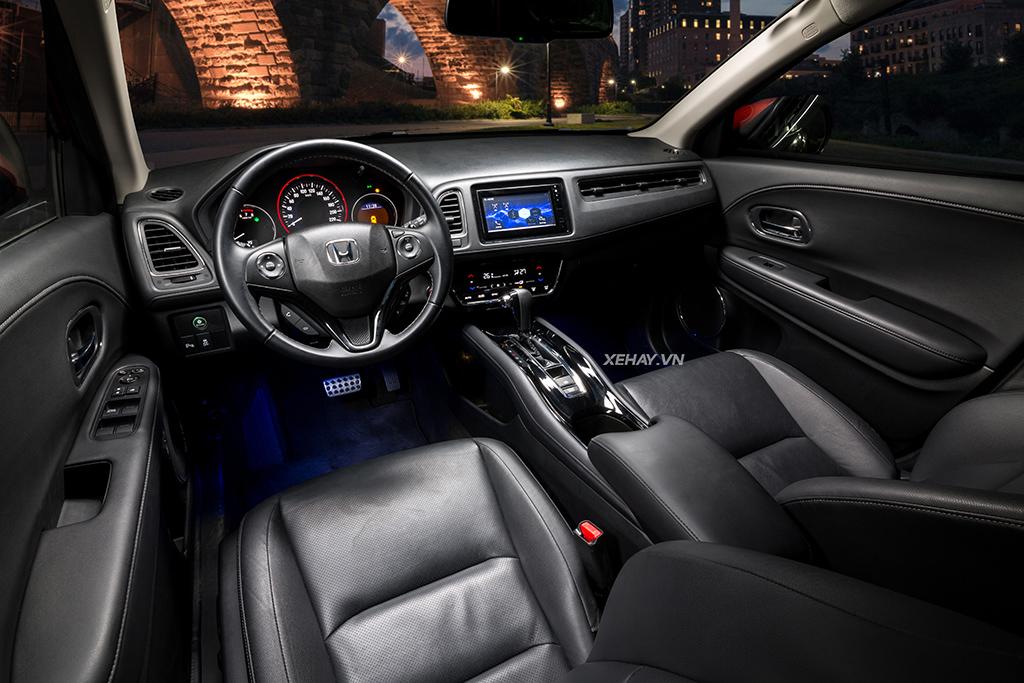 Nội thất xe Honda HRV 2019 mới
