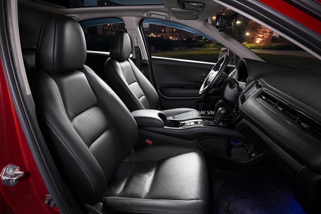Hàng ghế đầu xe Honda HR-V 2019 mới