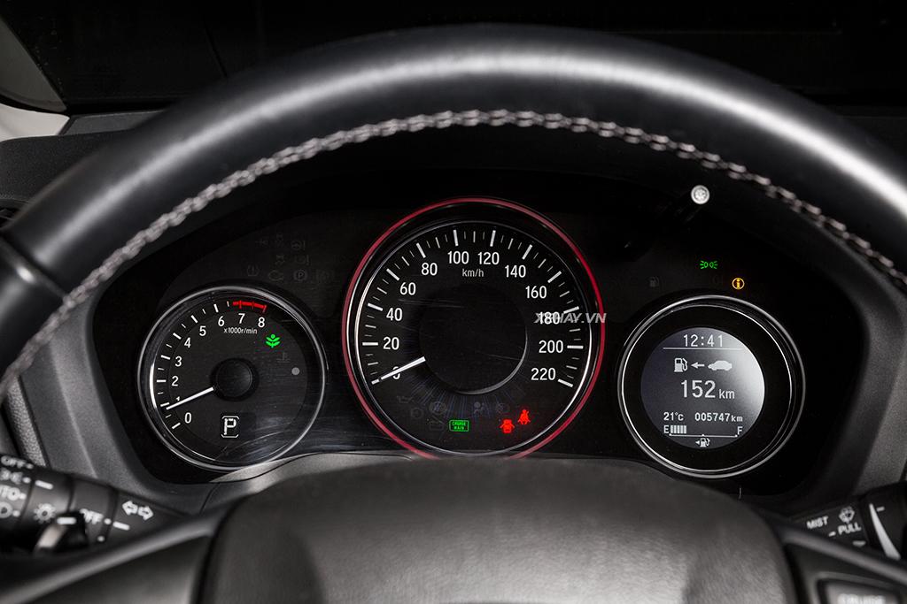 Bảng đồng hồ xe Honda HR-V 2019 mới