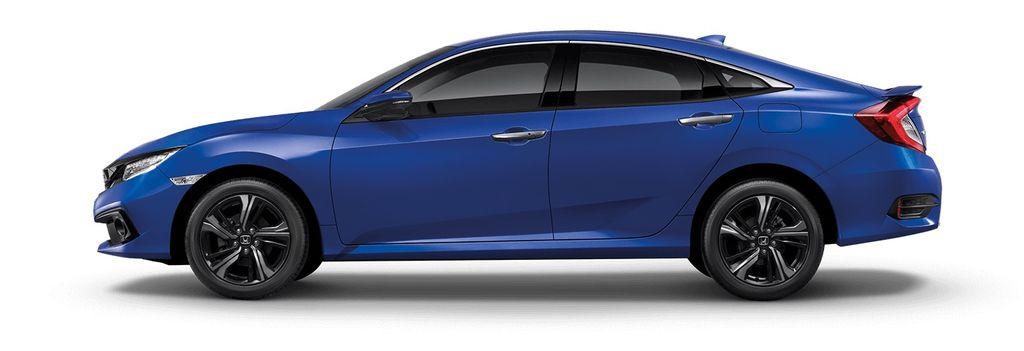 Honda Civic màu xanh 2019