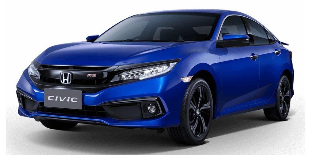Honda Civic 2019 màu xanh