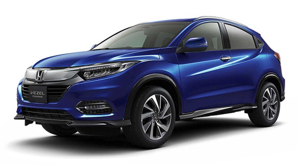 Bảng màu xe Honda HRV 2019 màu xanh, trắng, đỏ, đen, bạc