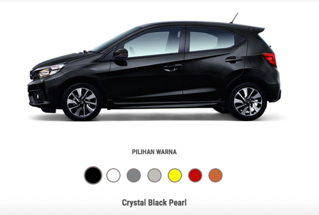 Honda Brio 2019 màu đen