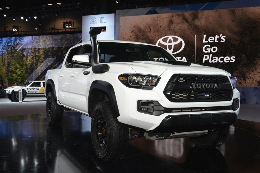 """Ra mắt Toyota Tacoma TRD Pro 2019 """"đối thủ"""" Ford Ranger ..."""