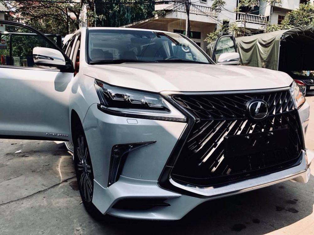 Hình ảnh: Việt Nam hiện sở hữu 3 chiếc Lexus LX570 Super Sport 2018 số 8