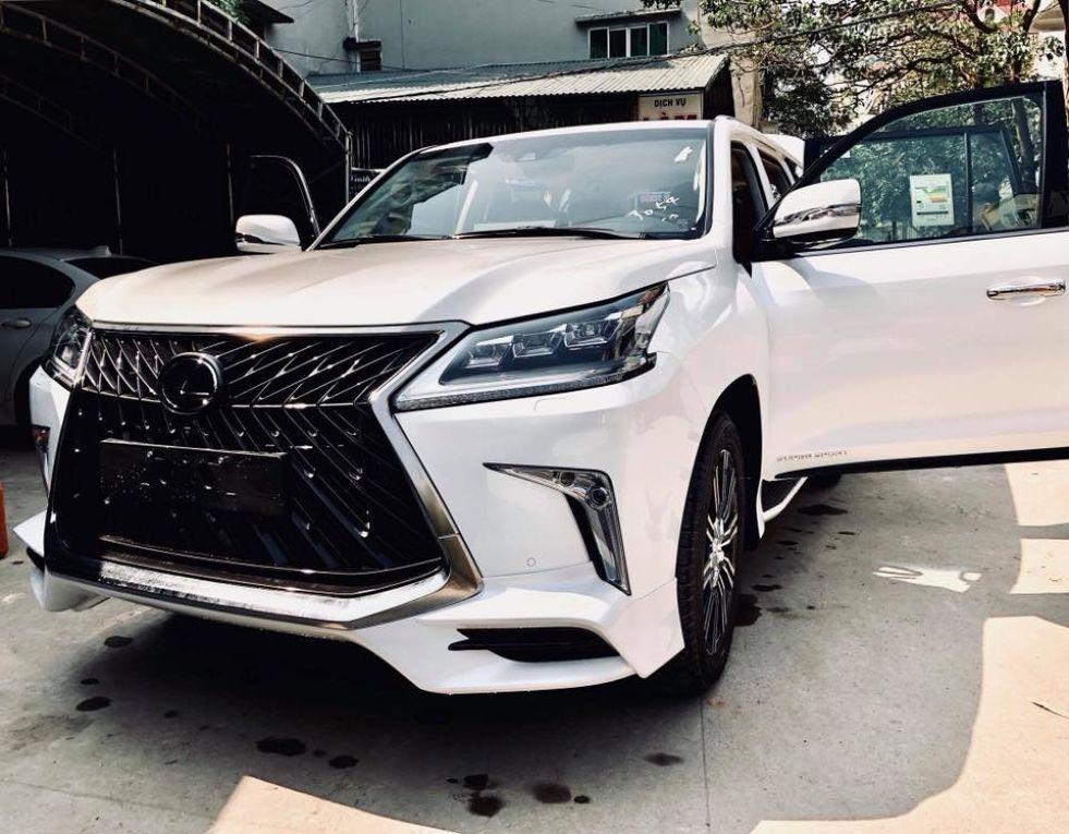 Hình ảnh: Việt Nam hiện sở hữu 3 chiếc Lexus LX570 Super Sport 2018 số 3