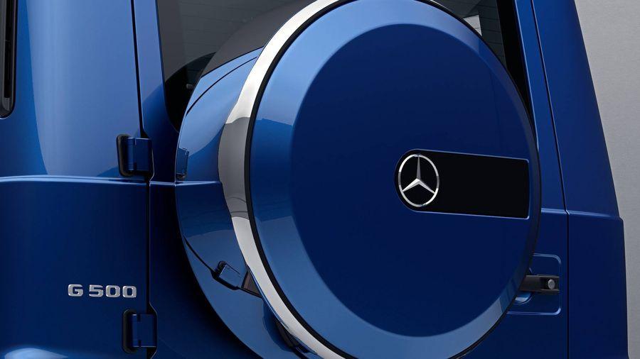 Hình ảnh: Mercedes G-Class 2019 điển trai hơn nhờ gói ngoại thất thép không gỉ đặc biệt số 2