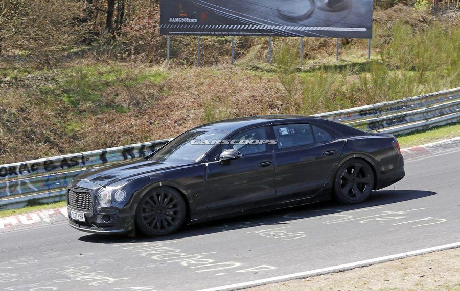 xehay Continental GT 050518 3 Bắt gặp Bentley Flying Spur 2019 gần hoàn thiện đang trên đường thử nghiệm