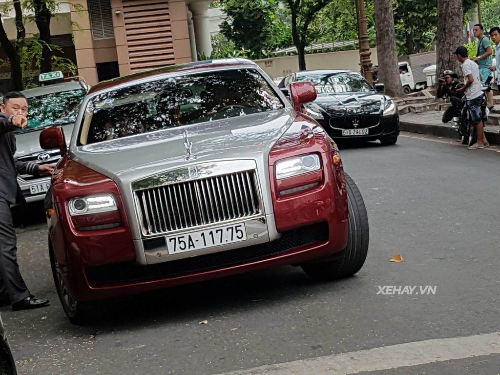 Bắt gặp Rolls-Royce Ghost