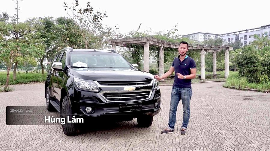 Video Nh Gi Xe Chevrolet Trailblazer Gi T 859 Tr I Th