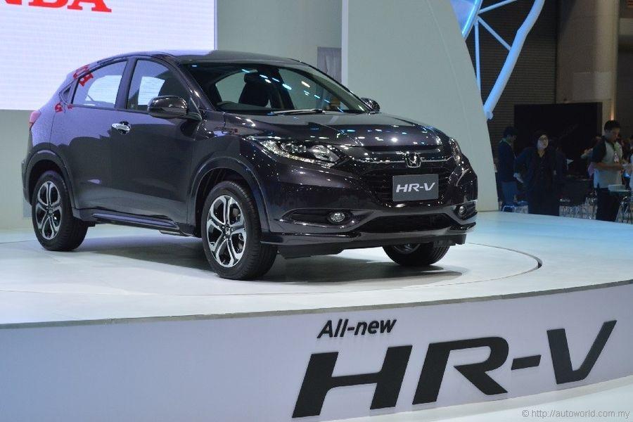 Honda HR V 2018 màu đen mới nhất Hà Nội