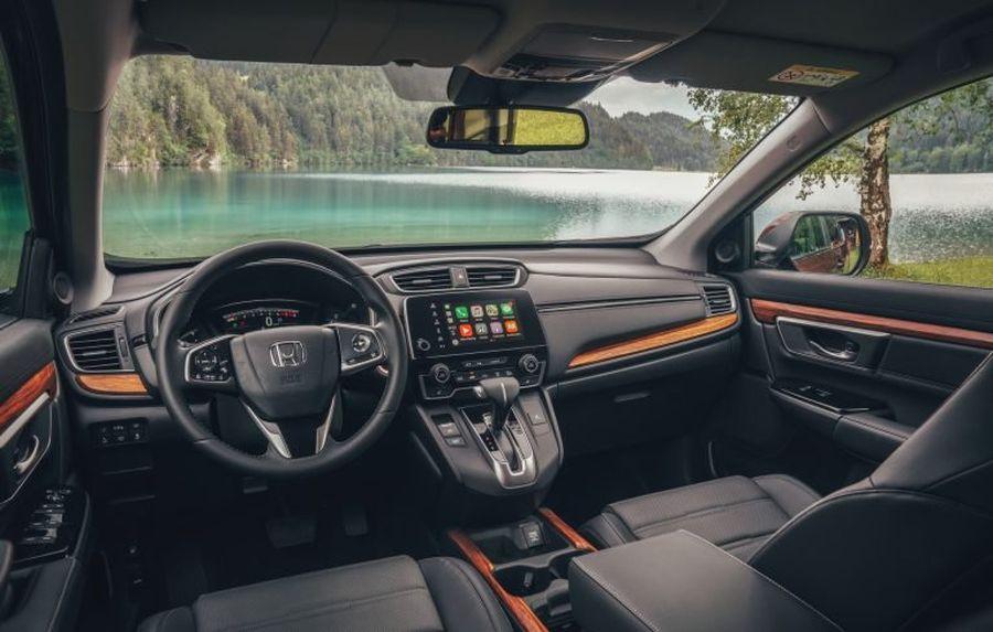 Khoang lái xe Honda CRV 2019   Hotline: 0917 325 699