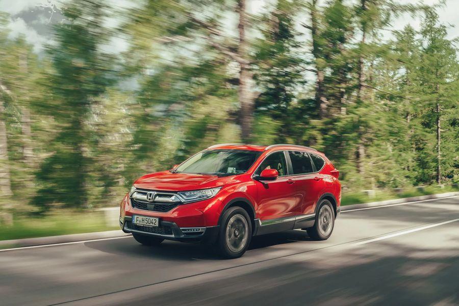 Thiết kế mới Honda CRV 2019 màu đỏ   Hotline: 0917 325 699