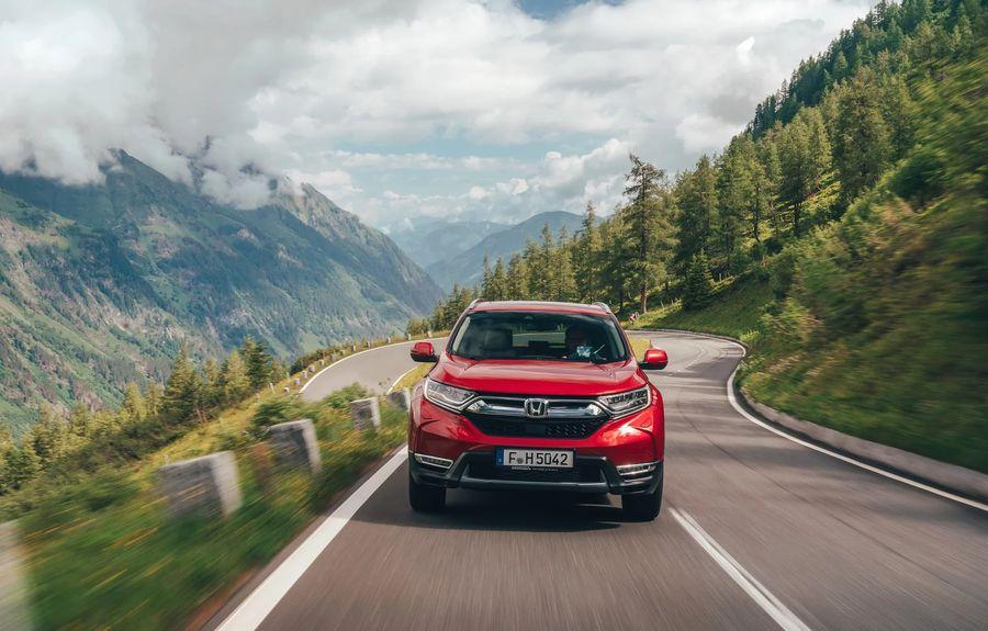 Thông tin xe Honda CRV 2019 màu đỏ   Hotline: 0917 325 699