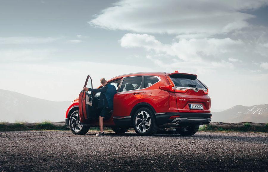 Giá xe Honda CR-V 2019 màu đỏ mới   Hotline: 0917 325 699