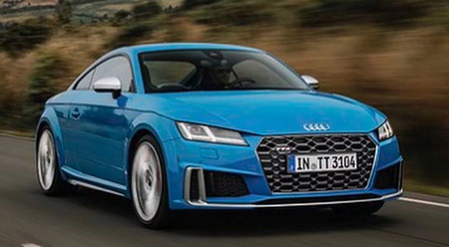 Ro Rỉ Bộ ảnh Trực Tuyến Của Audi Tts 2019 Diện Mạo Lấy Cảm Hứng Từ