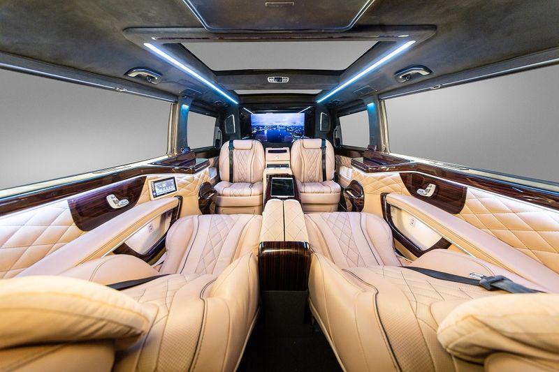Cận cảnh Mercedes V-Class độ Maybach độc nhất Thế giới - Hình 2