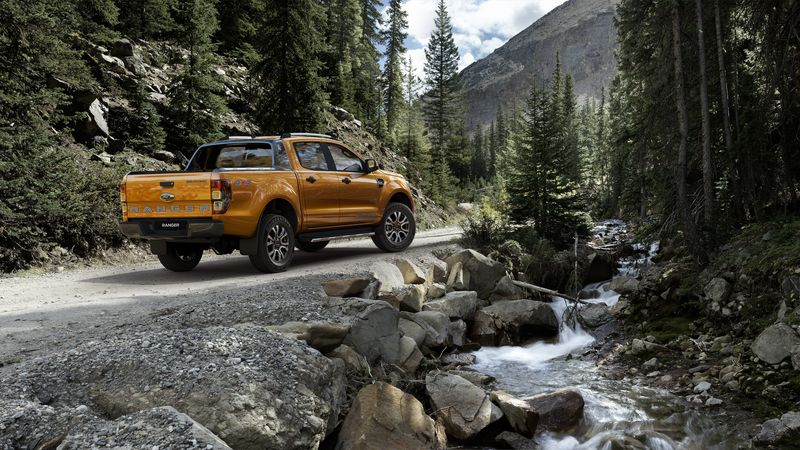 Thiết kế xe Ford Wildtrack 2018