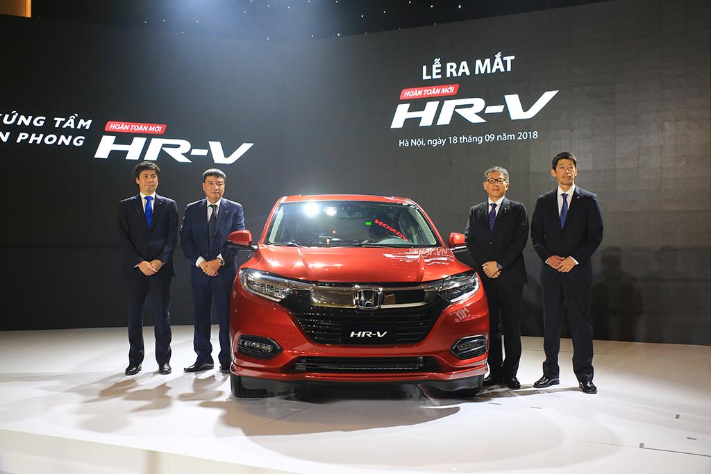 Chi tiết Honda HR-V 2019 vừa ra mắt Việt Nam, giá từ 786 triệu đồng