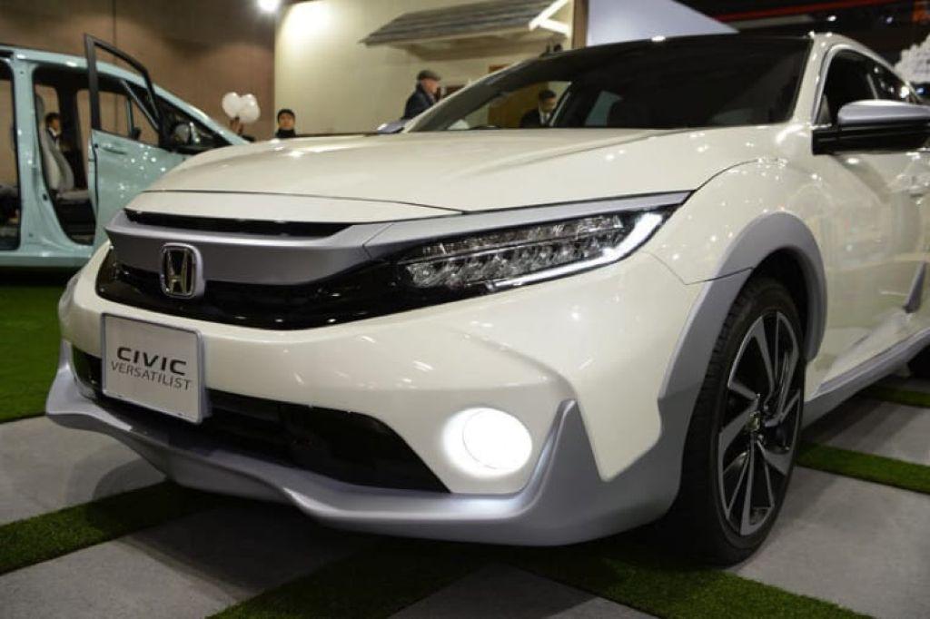 Đầu xe Honda Civic 2019 màu trắng