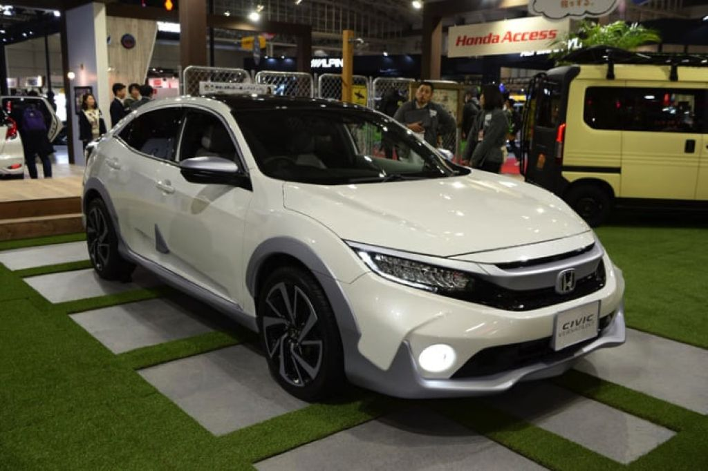Honda Civic 2019 mới màu trắng
