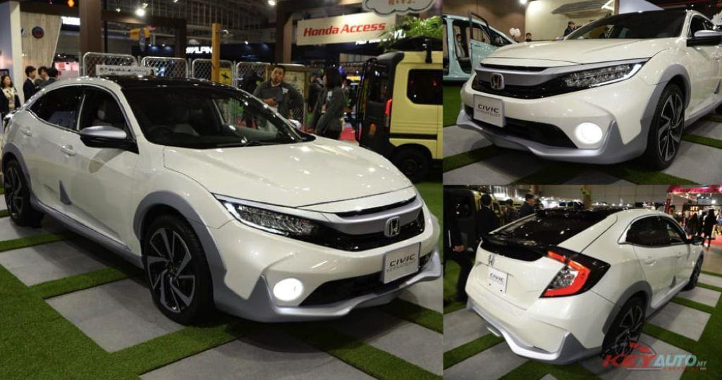 Honda Civic 2019 màu trắng