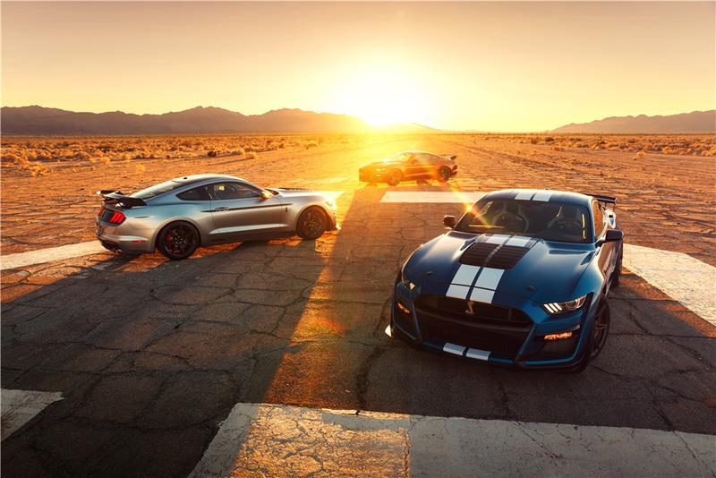 Ford Mustang Shelby GT500 2020 đầu tiên được bán có giá 25 ...