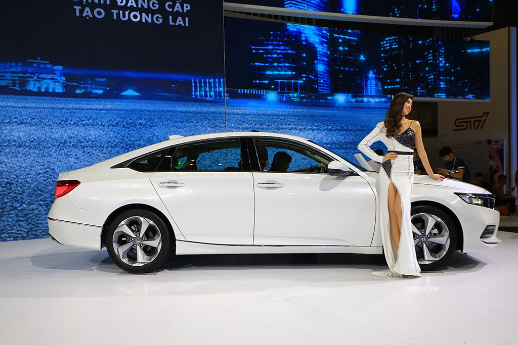 Thiết kế mới xe Honda Accord 2020 màu trắng
