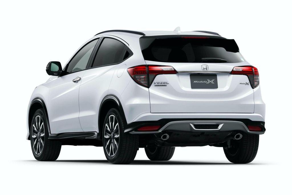 Hông xe Honda HRV 2020 màu trắng