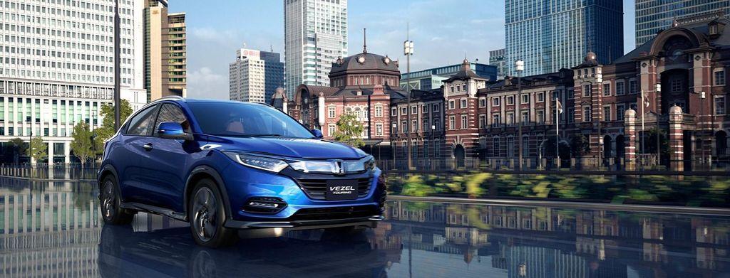 giá xe Honda HRV 2020 màu xanh