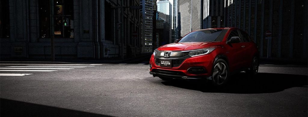 Hình ảnh xe Honda HRV 2020 màu đỏ
