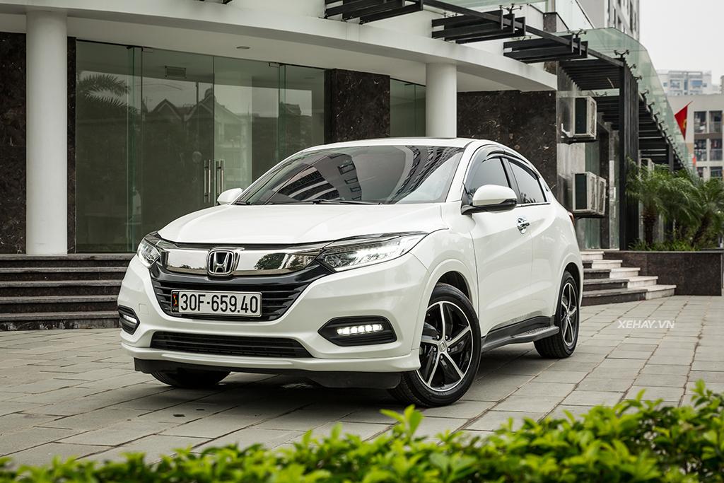 Honda HRV 2020 màu trắng | Hotline: 0917 325 699