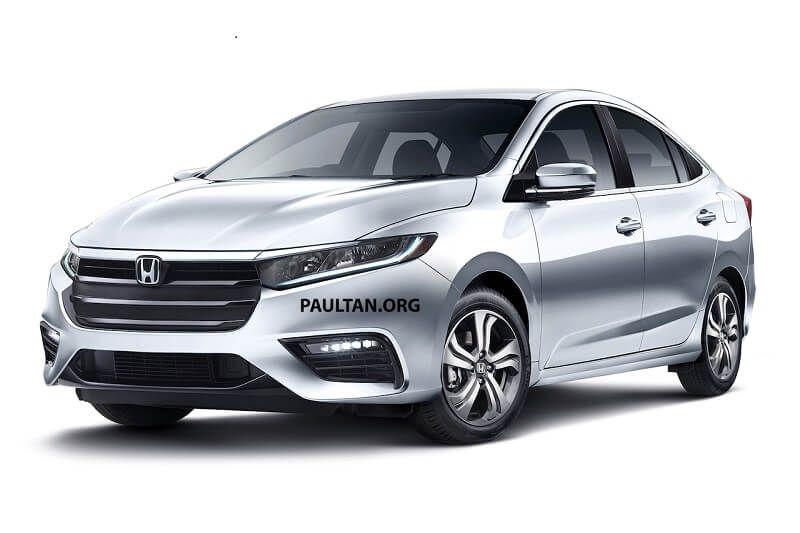 Đầu xe Honda City 2019 mới