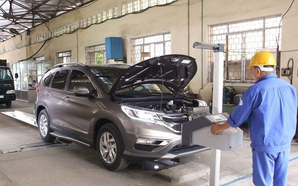 Đăng kiểm xe Honda CRV 2019 cũ